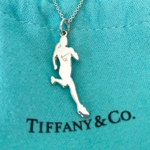 Tiffany & Co. Silver Nike Runners Necklace